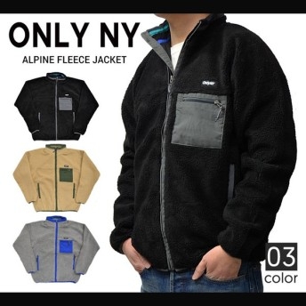 ONLY NY (オンリーニューヨーク) ALPINE FLEECE JACKET ボア フリースジャケット