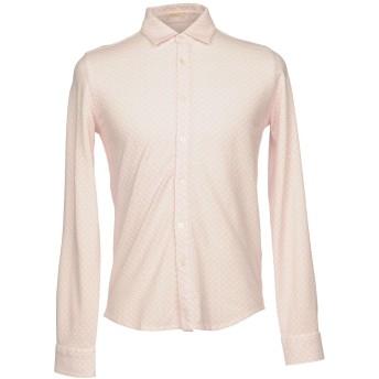 《期間限定セール開催中!》ALTEA メンズ シャツ ピンク S コットン 100%