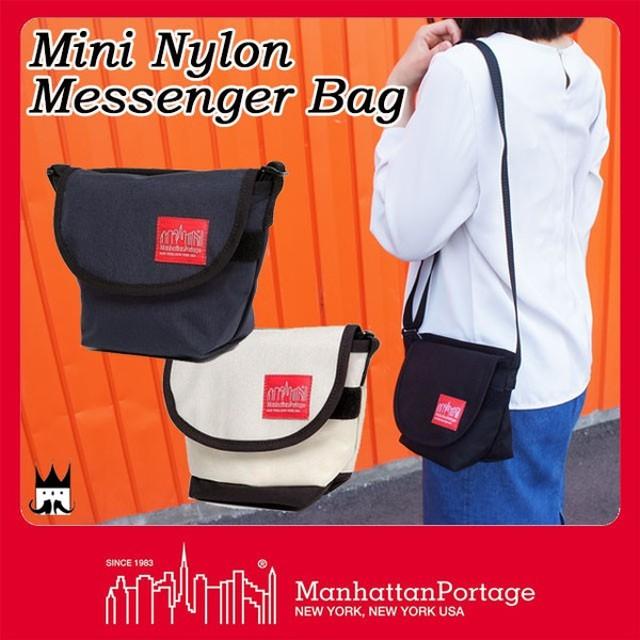 マンハッタンポーテージ Manhattan Portage メンズ レディース バッグ MP7604 ミニナイロンメッセンジャーバッグ ショルダー 斜め掛け ナイロン メッセンジャー
