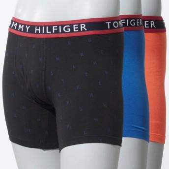 トミーヒルフィガー TOMMY HILFIGER ボクサーパンツ マルチカラー メンズ アンダーウェア 下着 ギフト プレゼント 09t3076-013-night 3PACK BRIEFS