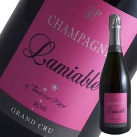 ブリュット グランクリュ ロゼ N.V年 ラミアブル(シャンパン スパークリングワイン)