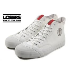 ルーザーズ LOSERS SCHOOLER CL HI スクーラー クラシック ハイ ホワイト SSCH01