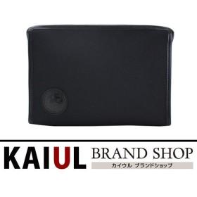 ハンティングワールド セカンドバッグ キャンバス ブラック 黒 A+ランク
