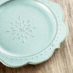 【Wild Flowers】 Saucer/Plate ( dandelion / blue)