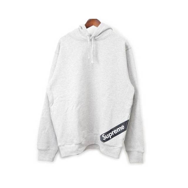 supreme シュプリーム 18ss corner label hooded sweatshirt プル