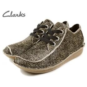 SALE クラークス Clarks FUNNY DREAM ファニードリーム ブラック/ホワイト 014D-BLWT