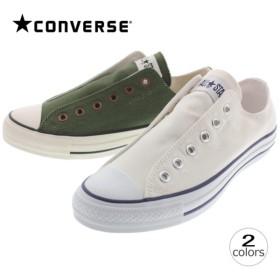コンバース CONVERSE オールスター スリップ 3 オックス ALL STAR SLIP 3 OX ホワイト/ブルー カーキ