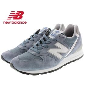 SALE ニューバランス New balance M996 ブルー/シルバー CHG [T]