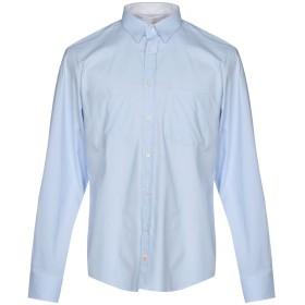 《セール開催中》PANAMA メンズ シャツ スカイブルー M コットン 100%