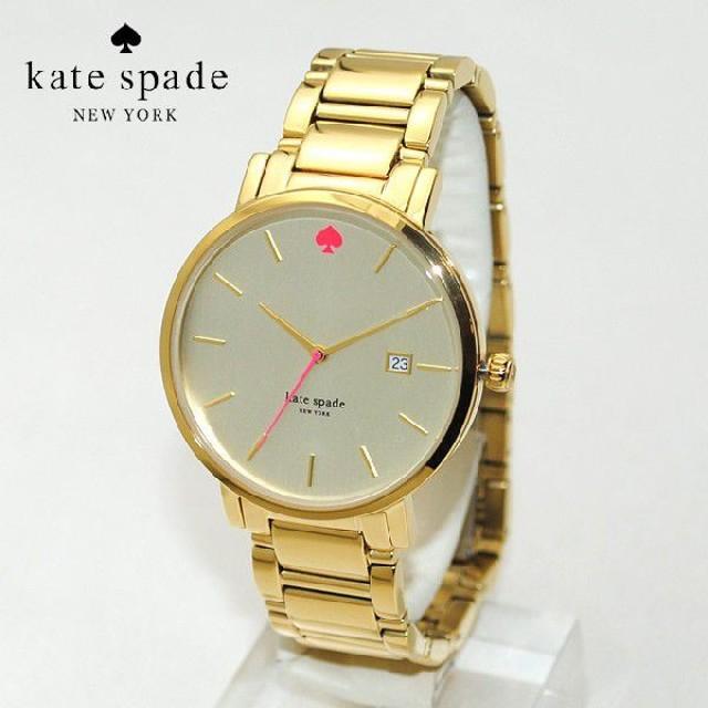 abddf21f11 kate spade (ケイトスペード) 時計 腕時計 1YRU0009 ゴールド/ピンク Gramercy(グラマシー)