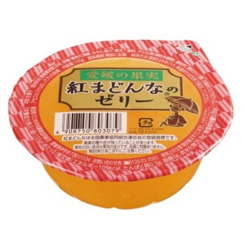 えひめ中央農業協同組合 愛媛の柑橘紅まどんなのゼリー 155g×30個入り箱売り 14248 