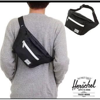 Herschel Supply ハーシェル サプライ バッグ セブンティーン ヒップパック ボディバッグ ワンショルダー BLACK 10017-00001-OS FW14