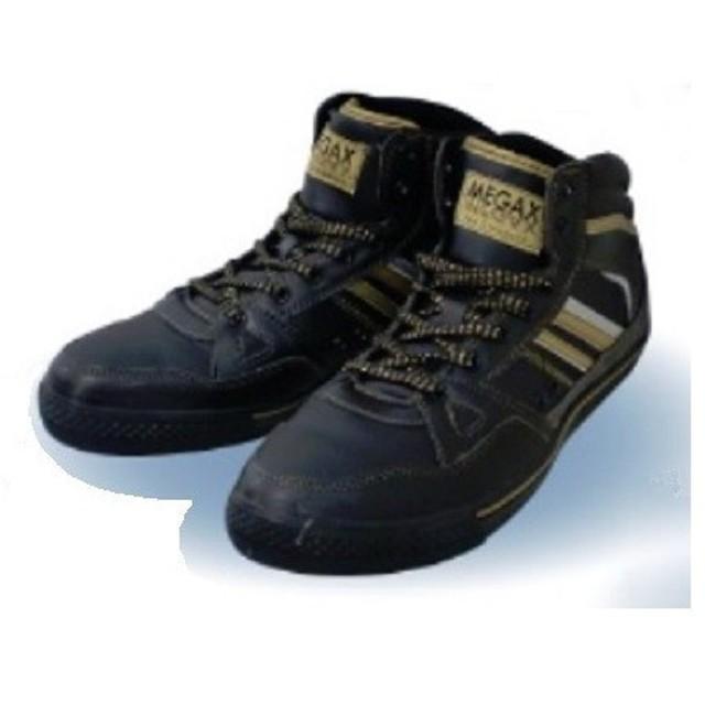 喜多【KITA】安全靴 セーフティーシューズ つま先鋼先芯 白金ナノ加工で制菌・消臭 MG-5570 BLK ブラック
