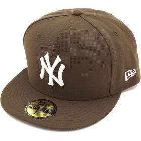 NEWERA ニューエラ キャップ MLB カスタム 59FIFTY ニューヨーク・ヤンキース ブラウン/ホワイト  11308562