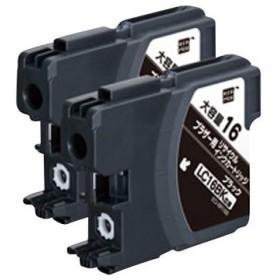 リサイクルインク Brother対応 LC16 エコリカ ECI-BR16B2P ブラック