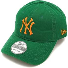 ニューエラ ニューヨーク・ヤンキース ウォッシュドコットンキャップNEWERA 帽子 9TWENTY ケリー/ライトオレンジ  11322592