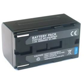 キヤノン用(Canon用) ビデオカメラ BP-924/BP-930互換バッテリー