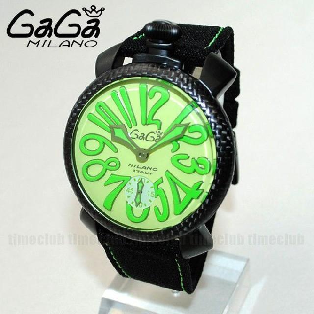 buy popular a22d7 517f5 箱なし SWISS MADE GaGa MILANO (ガガミラノ) 時計 腕時計 ...