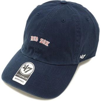 フォーティーセブン '47 キャップ MLB Red Sox Base Runner Script '47 CLEAN UP レッドソックス NAVY BSRNS02GWS SS18