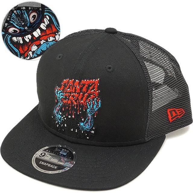 NEWERA ニューエラ キャップ New Era Santa Cruz サンタクルーズ スケートボード 9FIFTY メッシュキャップ 帽子  11557950 SS18