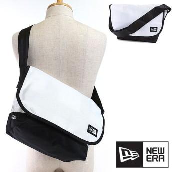 NEWERA ニューエラ キャップ バッグ New Era SHOULDER BAG ショルダーバッグ 鞄 メッセンジャーバッグ ホワイト/ブラック 11404162 SS17