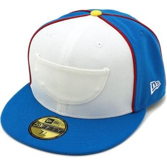 NEWERA ニューエラ キャップ New Era ドラえもん ポケット 59FIFTY ベースボールキャップ 帽子 Cブルー/Sホワイト 11559080 SS18