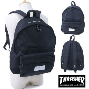 THRASHER スラッシャー 1Pバックパック リュック BLACK/WHITE THRGZ-5900