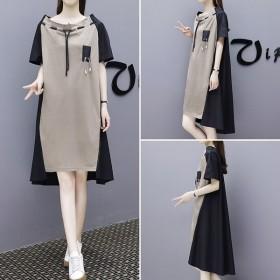 レディース ワンピース 半袖 ひざ丈 シンプル デザイン 洋服 ロング ワンピ