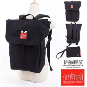 ウッドストックポーチ付き Manhattan Portage × PEANUTS SNOOPY マンハッタンポーテージ スヌーピー Washington SQ Backpack JP MP1220JRSNPY17 FW17