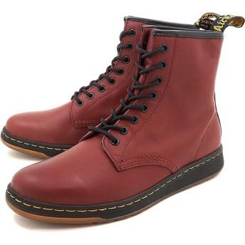 ドクターマーチン メンズ レディース ブーツ Dr.Martens NEWTON 8-EYE BOOT CHERRY RED  21856600