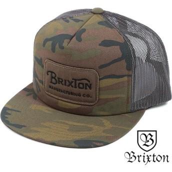 BRIXTON ブリクストン メンズ レディース トラッカー GRADE MESH CAP グレードメッシュキャップ バックスナップ カモ SS18