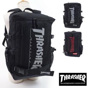 スラッシャー THRASHER トップオープンリュック リュックサック バックパック バッグ ブラック THRSG7903N SS18