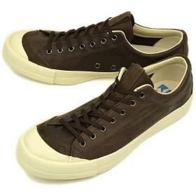 リズムフットウェア Rhythm Footwear RFW スニーカー ベーグル ロー レザー D.BROWN  R-1212132 12SS