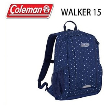 コールマン Coleman WALKER 15 26000021378 ネイビードット リュック バッグ デイバッグ