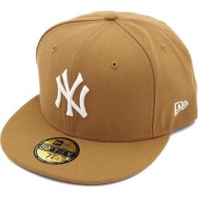 NEWERA ニューエラ NEWERA キャップ MLB カスタム 59FIFTY ニューヨーク・ヤンキース ウィート/ホワイト  11308532