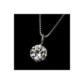 ダイヤ 0.9ct プラチナ ペンダント I1クラス Jカラー 鑑定書付き ダイヤモンド 一粒石 0.9カラット