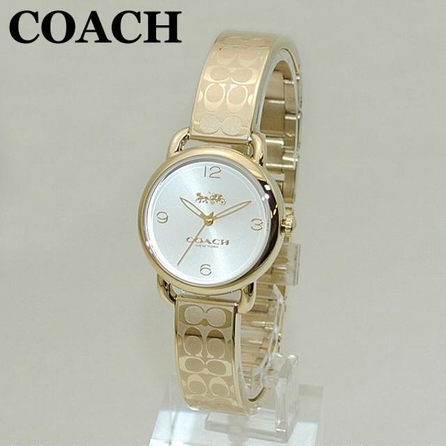 c9508f7c1633 COACH (コーチ) 腕時計 14502892 バングル DELANCEY デランシー ゴールド レディース 時計 ウォッチ