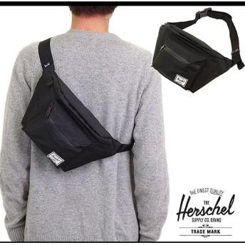 Herschel Supply ハーシェル サプライ バッグ セブンティーン ヒップパック ボディバッグ ワンショルダー BLACK/BLACK 10017-00165-OS FW14