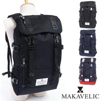 マキャベリック MAKAVELIC バックパック リュックサック デイパック DOUBLE BELT ZONE MIX  3106-10118 FW16