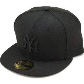 ニューエラ キャップ NEWERA CAP MLB カスタム 59FIFTY NYヤンキース ブラック/ブラック  11308579