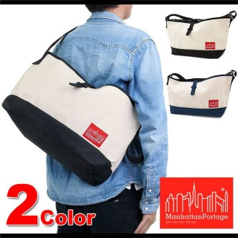 Manhattan Portage マンハッタンポーテージ Duck Fabric Flatbush Messenger Bag MP1632vduck