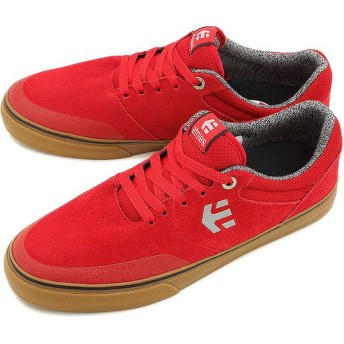 ETNIES エトニーズ スニーカー スケートシューズ マラナ バルカ RED/GUM Ross SS15