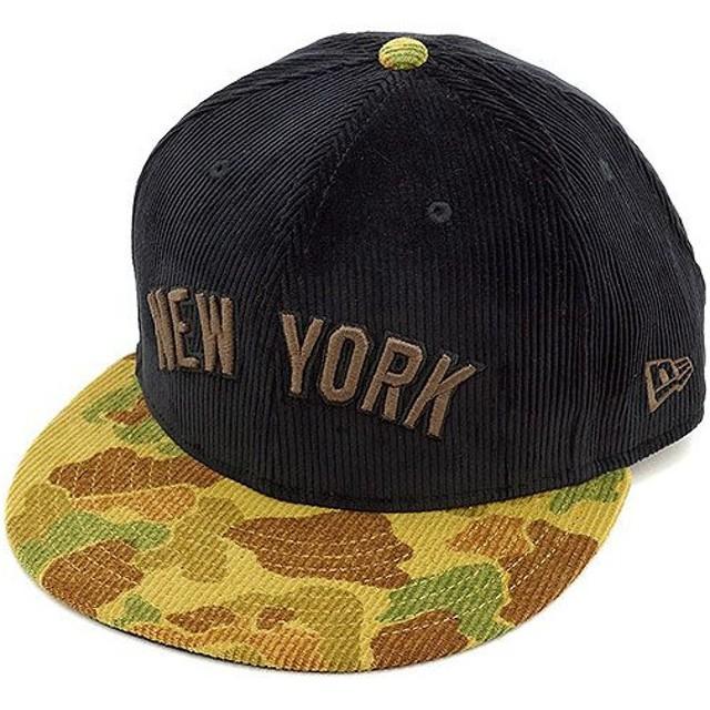 NEW ERA ニューエラ キャップ 9FIFTY MLB ニューヨーク・ヤンキース コーデュロイ BLK/HCAMO/MBRW/BLK  N0021125 FW14/NEWERA