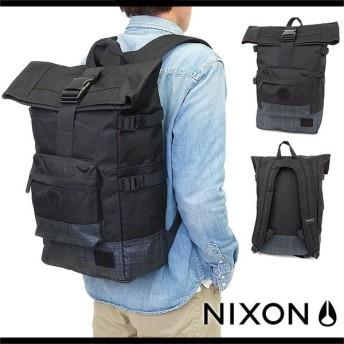ニクソン リュック NIXON バッグ スワミスパックパック2(デイパック) BLACK/BLACK-WASH (NC21871627-00)