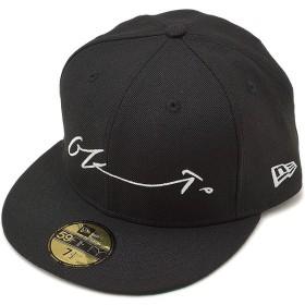 NEWERA ニューエラ キャップ 59FIFTY 岡本太郎 シグネイチャー ベースボールキャップ 帽子 ブラック/スノーホワイト  11405415 SS17