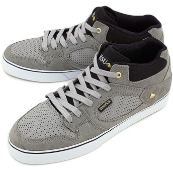 エメリカ EMERICA スケートシューズ THE HSU GREY/GREY/BLACK  SS14