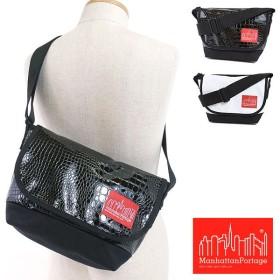 マンハッタンポーテージ クロコダイルパターン カジュアルメッセンジャーバッグ ManhattanPortage Casual Messenger Bag ショルダーバッグ  MP1605JRCRC FW16
