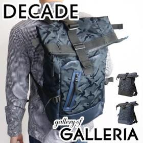 セール 30%OFF DECADE ディケイド リュックサック バックパック 迷彩 カモ ロールトップ メンズ DCD-00602A