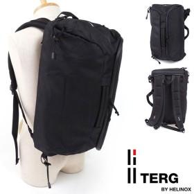 TERG ターグ バックパック Daypack 3Way デイパック 3ウェイ リュックサック ショルダーバッグ ブリーフケース ビジネスバッグ ブラック  19930013 SS17