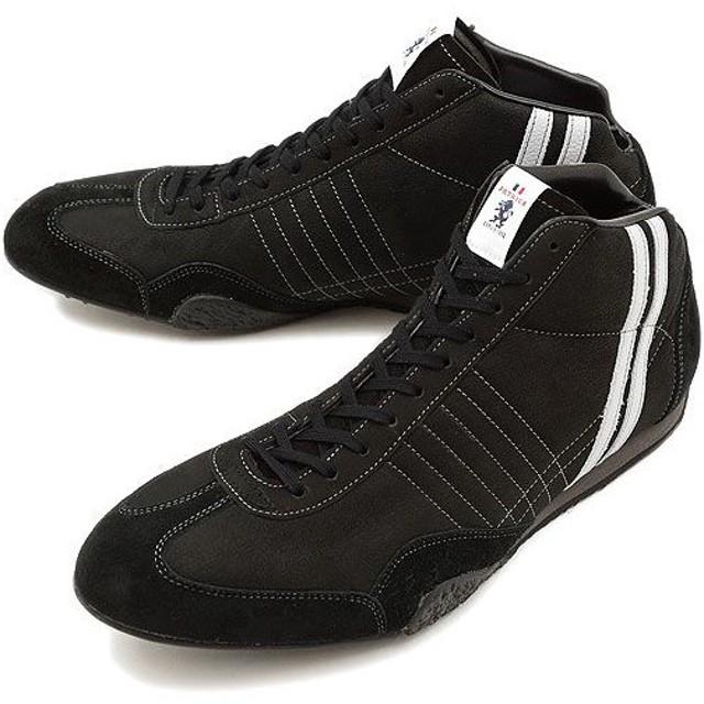 パトリック PATRICK スニーカー 靴 ジェット・ハイ ヌバック BLK 524641